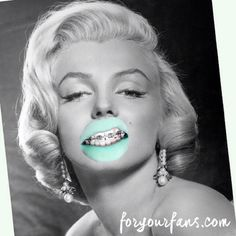 Marilyn Monroe Pop Art Poster With Mint With Envy by ForYourFansNYC, $29.00