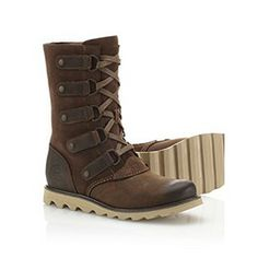 SOREL | Scotia™ Lace Boot. Ugh, why can't they ship these to Canada or be in stock somewhere in Canada?