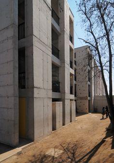 Colegio Villa El Sol by Gubbins Arquitectos, El Bosque, Santiago Metropolitan Region, Chile - 2008.