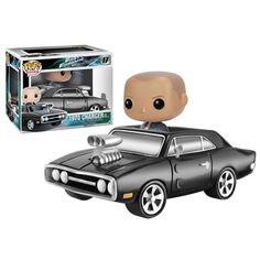 Fast & Furious 1970 Charger Dom Toretto Pop! Vinyl Vehicle - Funko - Fast and the Furious - Pop! Vinyl Figures at Entertainment Earth