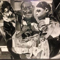 #romareBearden #Evening461LenoxAvenue #collage #perezartmuseum #miami by streetartnyc