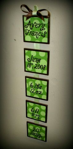 Would be cute in John Deere colors for Carters room :)