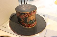 Taylor Hose Company fire hat. The Philadelphia based volunteer company was named after Zachary Taylor.