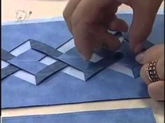 I like this idea for quilted bags... video is in Spanish, but I can get the idea of what they are doing.