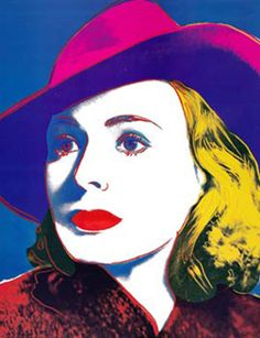 Andy Warhol   Ingrid Bergman in Casablanca