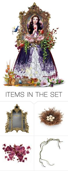 """Snow White"" by girlinthebigbox ❤ liked on Polyvore featuring art, fantasy, snowwhite and fairytale"