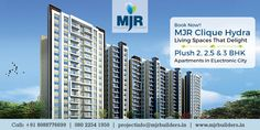 Witness the quintessential recreational experience at MJR Clique Hydra.Prices starting from Rs. 50.7 Lac.  Explore more ->http://goo.gl/VamlVq