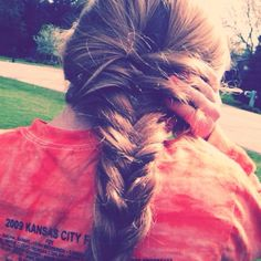Fishtail, thanks kels for being my model