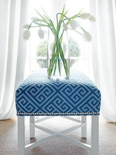 Woven fabrics in a trendy and stylish collection of clean geometrics in durable constructions intended for upholstery.
