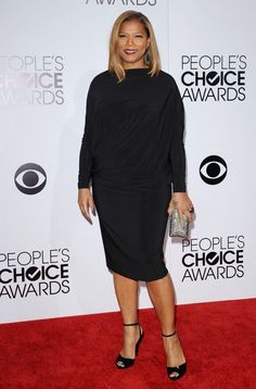 Queen Latifah Photos Photos - Arrivals at the People's Choice Awards at the Nokia Theatre in Los Angeles on January - Arrivals at the People's Choice Awards Casual Work Outfits, Work Casual, Queen Fashion, Girl Fashion, Michelle Obama Fashion, Adrienne Bailon, Queen Latifah, Style Challenge, Choice Awards