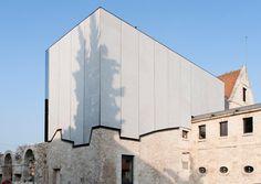 opus 5 architectes: maurice durufle music school in louviers