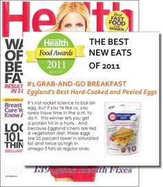 Health Magazine Best New Eats of 2011 #egglandsbest