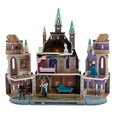 Disney's Frozen Castle of Arendelle Play Set -  wow wish they had nice castle toys like this when I was growing up