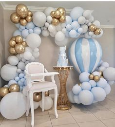 34 Creative Baby Shower Themes For Your Baby 2020 - Page 19 of 34 - coloredbikinis. Deco Baby Shower, Baby Shower Balloons, Baby Boy Shower, Baby Boy Balloons, Baby Shower Balloon Decorations, Baby Party, Baby Shower Parties, Baby Shower Themes, Shower Ideas