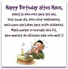 Haus Altes Happy Birthday longer the carry