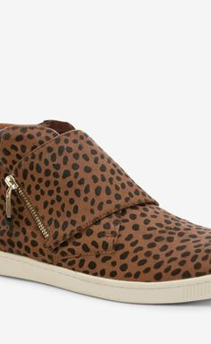 Rebecca Minkoff Spotted Sneakers - Maybe with leatherette leggings or leather pants??!!