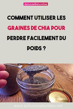 How to use chia seeds to lose weight easily? Chocolate Slim, Holistic Nutritionist, Juice Fast, 100 Calories, Weight Loss Drinks, Chia Pudding, Healthy Eating Tips, Chia Seeds, Detox