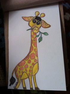 Cartoon Giraffe by me!