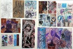 Merit high Portfolio Examples, Art Portfolio, Design Process, Homework, Boards, Artists, Painting, Inspiration, Ideas