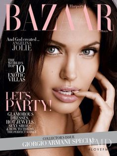 Cover of Harper's Bazaar Australia with Angelina Jolie, December 2008 (ID:16096)| Magazines | The FMD #lovefmd