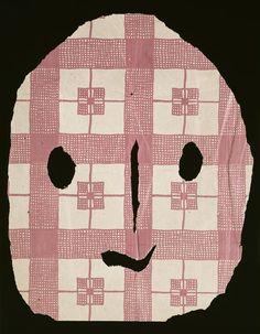 Pablo Picasso, Masque, 1943 – papier découpé