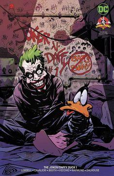 The Joker Comic Issue 1 Daffy Duck Limited Variant Modern Age First Print 2018 Joker Comic, Joker Batman, Batman Robin, Joker Y Harley Quinn, Joker Art, Comic Art, Black Batman, Gotham Batman, Batman Art