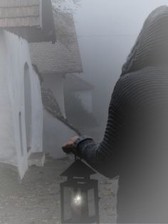 November-Nebel in Weinviertler Kellergasse Wine Cellar, November, Basement, Riddling Rack, November Born, Wine Cellar Basement