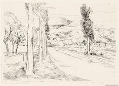 Pietilä, Tuulikki Maisema Provencesta 1949