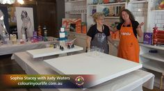 Colour in Your Life featured artist Judy Waters appeared on Colour In Your Life Season Fifteen See her online episode here Water, Life, Color, Art, Gripe Water, Art Background, Kunst, Colour, Aqua