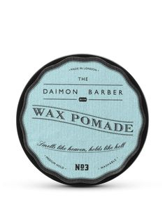 The Daimon Barber No.3 Vegan Hair Pomade 3.5oz