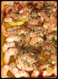 We are right in the middle of the holiday season, that means calendars are full and you are needing to bring something to share to almost every event. These shrimp are a great option. They are deli...