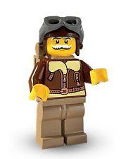 Lego 8803 Pilot Minifigures Serie 3 Nr. 2 + BPZ