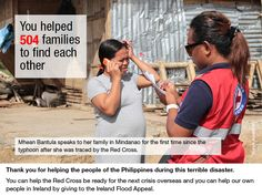 Typhoon Haiyan: 3 months on-what you have helped us achieve You Make A Difference, Mindanao, Tweet Tweet, Red Cross, 3 Months, First Time, Change, People, People Illustration