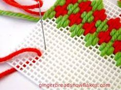 Plastic Canvas Is Perfect For Fancy Needlepoint Stitch Samplers Plastic Canvas Stitches, Plastic Canvas Tissue Boxes, Plastic Canvas Crafts, Plastic Canvas Patterns, Chain Stitch Embroidery, Embroidery Stitches, Embroidery Patterns, Broderie Bargello, Bargello Patterns