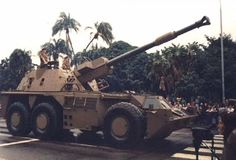 Aone of the most mobile self-propelled howitzers in service, designed in the by the South African Defense Force and able to survive multiple mine detonations Defence Force, Armored Fighting Vehicle, West Africa, Military Vehicles, 1970s, African, War, Times, Modern