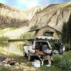 Car camping toyota land cruiser 22 ideas for 2019 Jeep Camping, Motorcycle Camping, Camping Life, Top Tents, Roof Top Tent, Toyota 4runner Trd, Overland 4runner, Toyota Tacoma, 1998 4runner