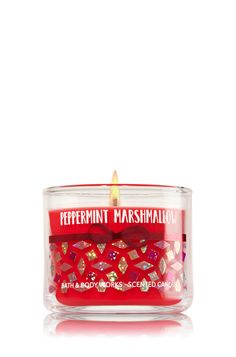 Peppermint Marshmallow Mini Candle - Home Fragrance 1037181 - Bath & Body Works