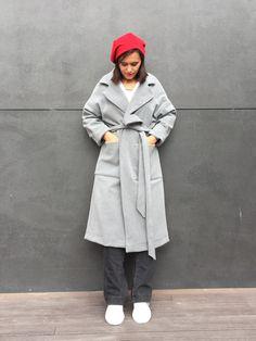 Mango 700 TL'lik kaban dikiyorum – Esma'nın Dikiş Atölyesi ropa paso a paso Learn How To Knit, How To Start Knitting, Coat Patterns, Sewing Patterns, Diy Mode, Knitting Magazine, Baby Vest, Model Look, Dress Tutorials