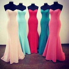 Elegant Sweetheart Mermaid Bridesmaid Dresses 2017 Charming Women Wedding Party Dress Satin Formal Gowns Robe De Soiree