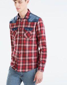 Da Zara Uomo arriva il Catalogo primavera estate 2015 con 15 Look da copiare Zara uomo catalogo primavera estate 2015 camicia quadri