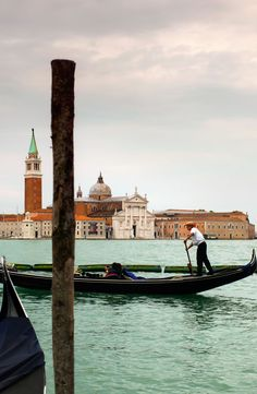Take a classic, romantic gondola ride on Day 3 of the Rick Steves Best of Venice, Florence & Rome Tour.