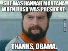 It's always Obama's fault lol