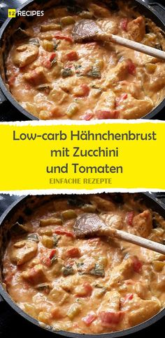 Low-carb chicken breast with zucchini and tomatoes inside - Keto Snacks Ideas Best Keto Diet, Keto Diet Plan, Zucchini Enchiladas, Cream Cheese Sauce, Chicken Zucchini, Keto Snacks, Cheeseburger Chowder, Food And Drink, Ethnic Recipes