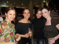 Alexandra Camino, Silvia Olivares, Elisa Ramos y Blanca Ríos