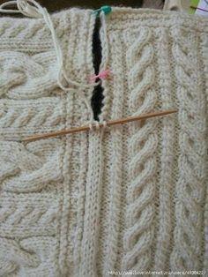 Фото Вязалочка - вязание спицами и крючком.