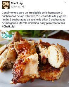 Adobar un pollo al horno