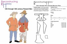 patterns for elizabethan costumes - Google Search