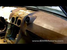 Sculpting Car Interior Dash with Chavant Y2-Klay - Bailey Blade XTR - Part 69