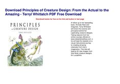 Terryl Whitlatch, Moving House Tips, Cow Nails, Ballet Girls, Creature Design, New Image, Dollhouses, Free Books, Audio Books