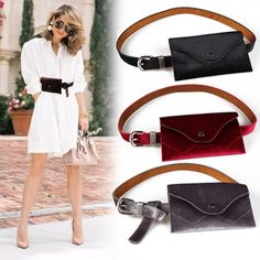 71d51490ab38 Anreisha Women Fashion Waist Bag High Quality Velvet Material Belt Bags For Women  Female 2018 Newest